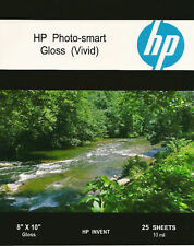 HP Photo-smart Gloss Vivid~8 x 10 Photo Paper~50ct