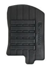Genuine Nissan Navara Car Floor Mats Tailor Rubber Front+Rear Set x4 KE7585X489