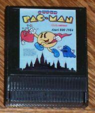 Super Pacman Cartridge 800/XL/XE Atari New 1984 Rev