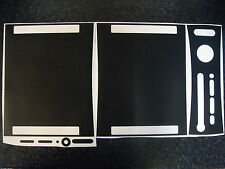 XBOX 360 CHANGE COLOUR TO MATT BLACK STICKER SKIN OR PICK A COLOUR RED PINK BLUE