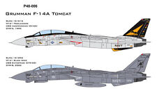 CAM PRO DECAL, 1/48 SCALE, P48-006, F-14A, VF-21, VF-41