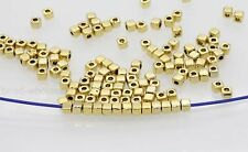 100/500Pcs Fashion Loose Cube Tibetan Silver Spacer Beads Jewelry Findings