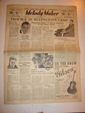 MELODY MAKER 1934 NOVEMBER 17 DUKE ELLINGTON HENRY HALL TROMBONE SWINGERS