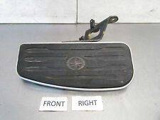 G YAMAHA V STAR 650 CLASSIC 2001 OEM FRONT RIGHT PEG FLOOR BOARD & BRACKET