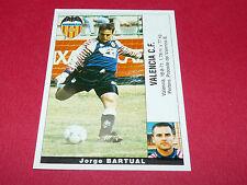JORGE BARTUAL FUTBOL VALENCIA CF PANINI LIGA 95-96 ESPANA 1995-1996 FOOTBALL
