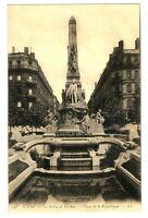 CPA 69 Rhône Lyon La Statue de Carnot Place de la République