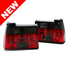85-92 VW Jetta MK2 Euro Taillights - Crystal Smoke/Red