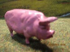 Ferme authentique rare cochon plomb Quiralu Authentic farm rare rare pig hollow