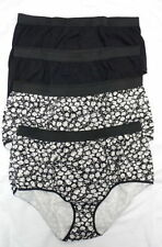 Cotton Blend Glamour Briefs Floral Knickers for Women