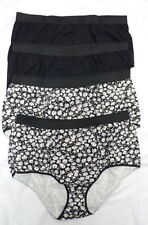 Floral Glamour Briefs, Hi-Cuts Panties for Women