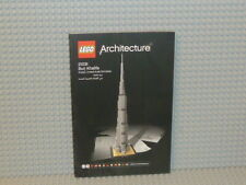 LEGO® Architecture Bauanleitung 21031 Burj Khalifa ungelocht instruction B2421