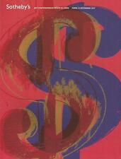 Catálogo sotheby`s 2011 arte contemporáneo.