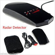 Car Radar Laser Camera Detector Full Band Speed Safety Alert Voice + LCD Display