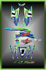 Kawasaki KFX450R  KFX 450 ATV Sport Quad Custom Graphics kit Stripper1