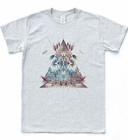 Triangle Dreamcatcher Illuminati T shirt Vintage Hipster Tee Tumblr Dream Top