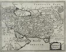 Persia Iran Safavid Persian Gulf 1661 Jansson decorative miniature map