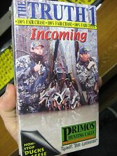 Primos Hunting Calls The Truth 1 Vhs Video / Incoming Non-Stop Ducks & Geese