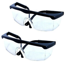 2-Pack HQRP Safety Glasses UV Protecting for Shooting, Gun range, Racquetball