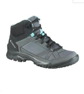 Quechua Womens Hiking Trainers Hi Top Boots 6.5 / 40
