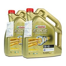 10 (2x5) Liter Castrol EDGE Turbo Diesel 5W-40 ACEA C3 / API SN/CF
