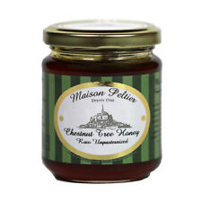 Maison Peltier - Raw Unpasteurized Chestnut Tree Honey from France, 250g Jar