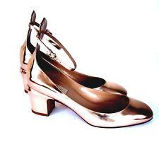 J-2879102 Valentino Garavani Copper Pumps Shoes Size US 9 Marked 39