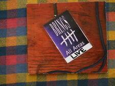Brings All Areas Live (Digipak) CD