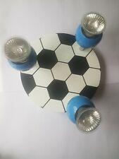 Ceiling Lamp Kids Football Blue Adjustable