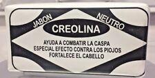CREOLINA JABON PARA PIOJOS Y CASPA  LICE SOAP GLYCERIN HECHO  MEXICO FREE SHIP!