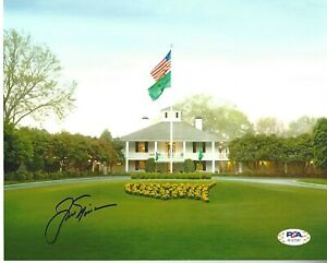 JACK NICKLAUS SIGNED/AUTOGRAPH 8X10 PHOTO PSA/DNA MASTERS PHOTO W/LOA #2