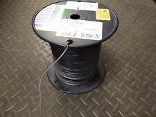 18 AWG Gauge Copper Hook Up Wire UL1007 1569 300V GREY ~1000ft 7lb Spool