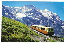 The Jungfraubahn Unposted PPC Rack Railway, by Gyger