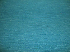 "COTTON POLYESTER BLEND UPHOLSTERY  TEXTURED PEACOCK FABRIC 57"" WIDE ORGANIC LOOK"