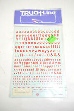 Truck Line Decals 2331 Lowercase Letters Red New (K37) #1