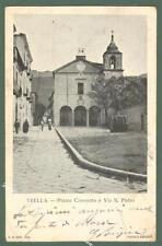 Campania. AVELLA, Avellino. Piazza Convento e Via S. Pietro.