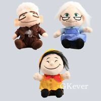 "Movie UP Carl Fredricksen Russell Ellie Plush Doll Stuffed Toy 8"" Figure"