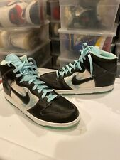 NEW Nike Dunk High Premium Santana Black Glacier Ice Men 312786 003 Size: 13