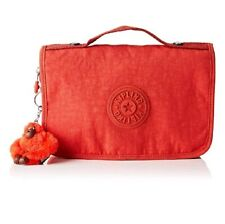 Kipling Large toiletry bag with hook Nabba Active red cosmetic travel bag Rrp£54