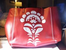 "Vera Bradley Laser Cut Tote ""Cheery Blossoms"" May not have been used. #PW336"