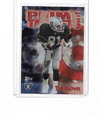 1998 TOPPS FOOTBALL SEASON'S BEST BEST PRIME TARGETS TIM BROWN #15