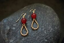 HANDMADE! Garnet Gemstone Earrings 90120