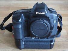 Canon EOS 5d con mango, formato completo, fullframe