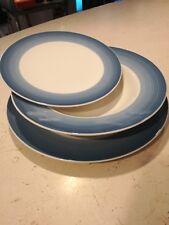COLOURFUL LIFE piatti porcellana 3pz fondo, piano dessert blue VILLEROY & BOCH