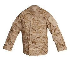Tru-Spec Tactical Response Uniform Shirt , Desert Digital Camo , Small Regular
