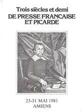 A SAISIR   ENCART DE LUXE  SUR  TROIS SIECLES ET DEMI DE PRESSE FRANCAISE