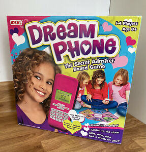 Dream Phone The Secret Admirer Board Game Texting Phoning Dating Teenage SEALED