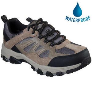 Skechers Selmen Enago Mens Waterproof Hiking Walking Shoes Trainers Size UK 8-13