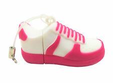 USB Stick SpeicherstickTurnschuh Sneaker  Memory 4 GB Weiß-Pink TCM Tchibo