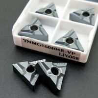 10Pcs TNMG160404R-VF LF6008 TNMG331 Carbide inserts For Stainless steel