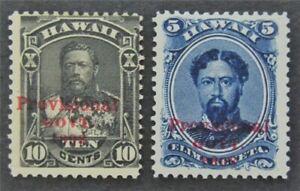 nystamps US Hawaii Stamp # 59,61 Mint OG H   L30x1182
